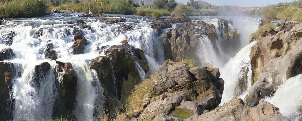 Cataratas Epupa, Namibia, Africa, Naturaleza