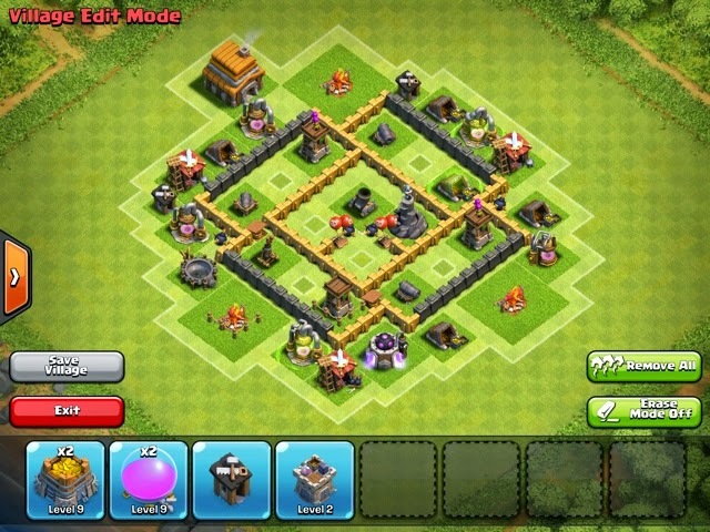 clash of clans town hall 5 trophy defense base replays rewinds