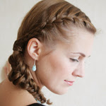 French + Fishtail Braid