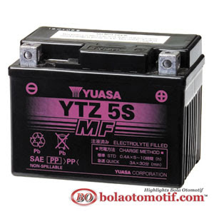 Yuasa YTZ5S Battery