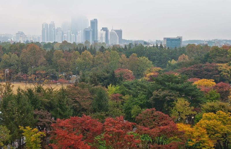 Korea -- poranny Seul..