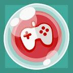 free bubble game button