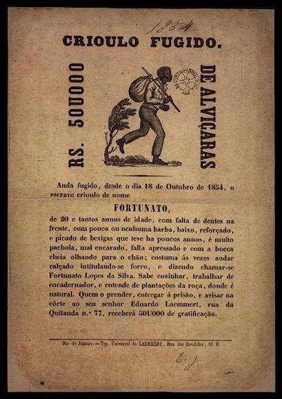 Os escravos eram considerados investimentos caros demais para que não fossem caçados quando fugissem