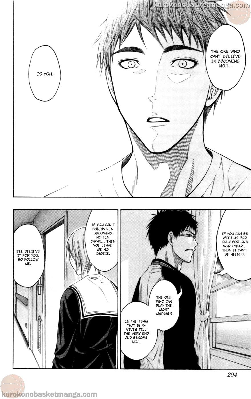 Kuroko no Basket Manga Chapter 99 - Image 19