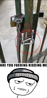 are you fucking kidding me thief carabiner lock lockpicking, are you fucking kiddin me, AYFKM, AUFKM, lockpicking, lockpicking fail, carabiner, funny carabiner