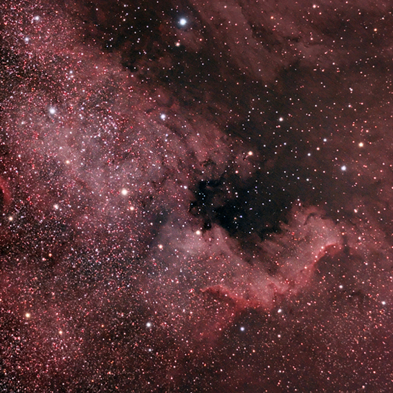 NGC 7000 - The North American Nebula