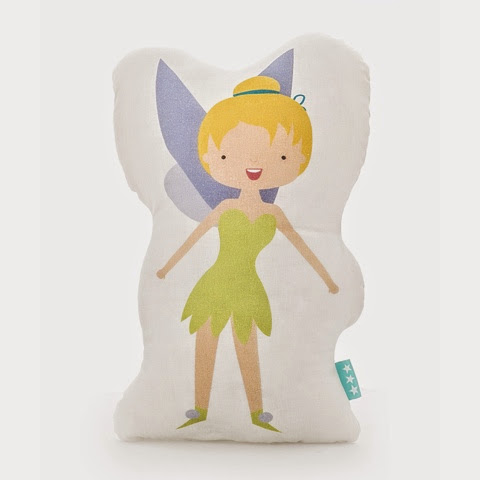 Mr Fox Peter Bedding - Peter Pan - tinkerbell fairy cushion