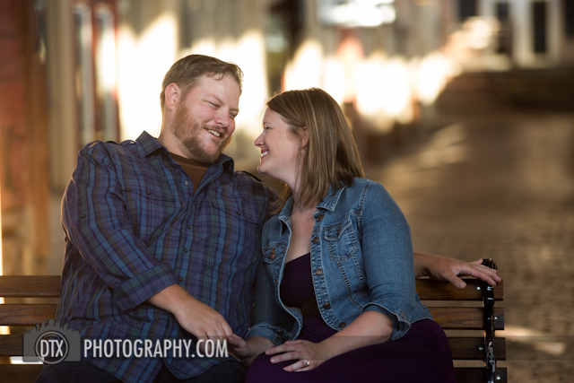 Fort Worth engagement and wedding photography stockyards