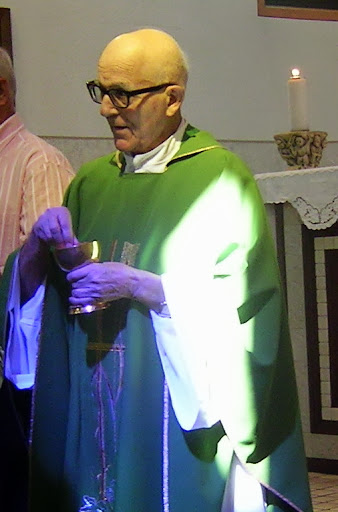 Padre Gino Pizzuto, confratello di p. Sergio Sorgon