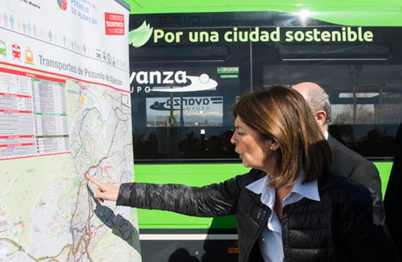 Nuevos autobuses híbridos para las líneas 2 y 3 de Pozuelo de Alarcón