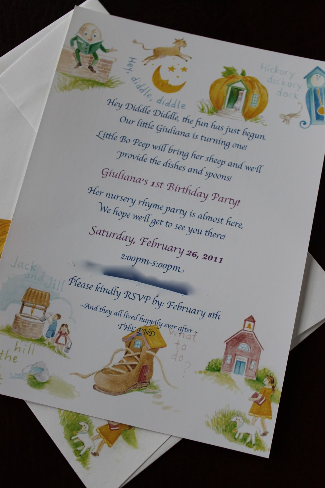 Cafe Coco Nursery Rhyme Birthday Party