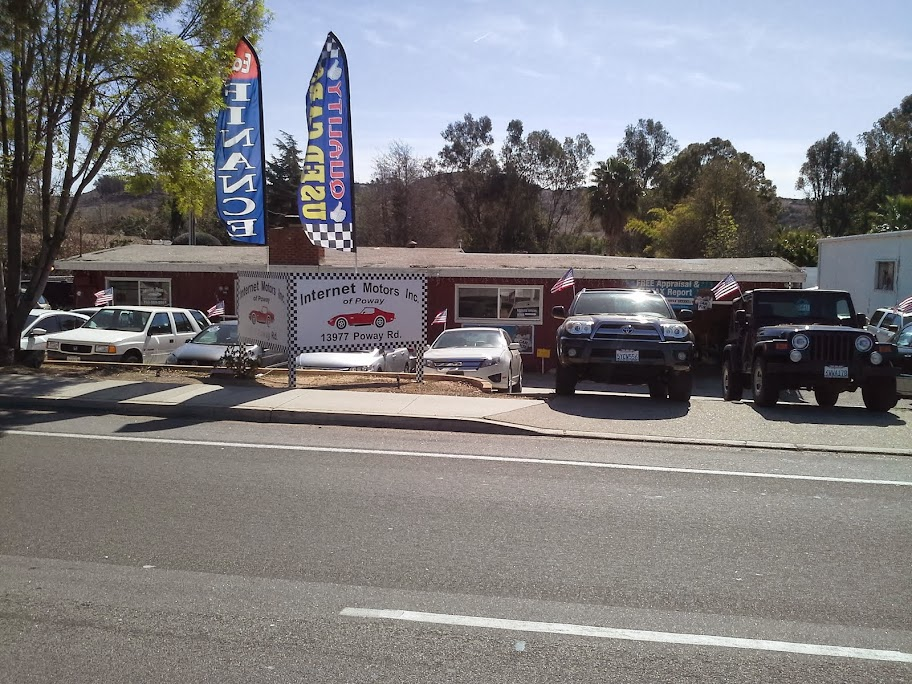 car dealer Poway CA | INTERNET MOTORS at 13977 Poway Rd, Poway, CA