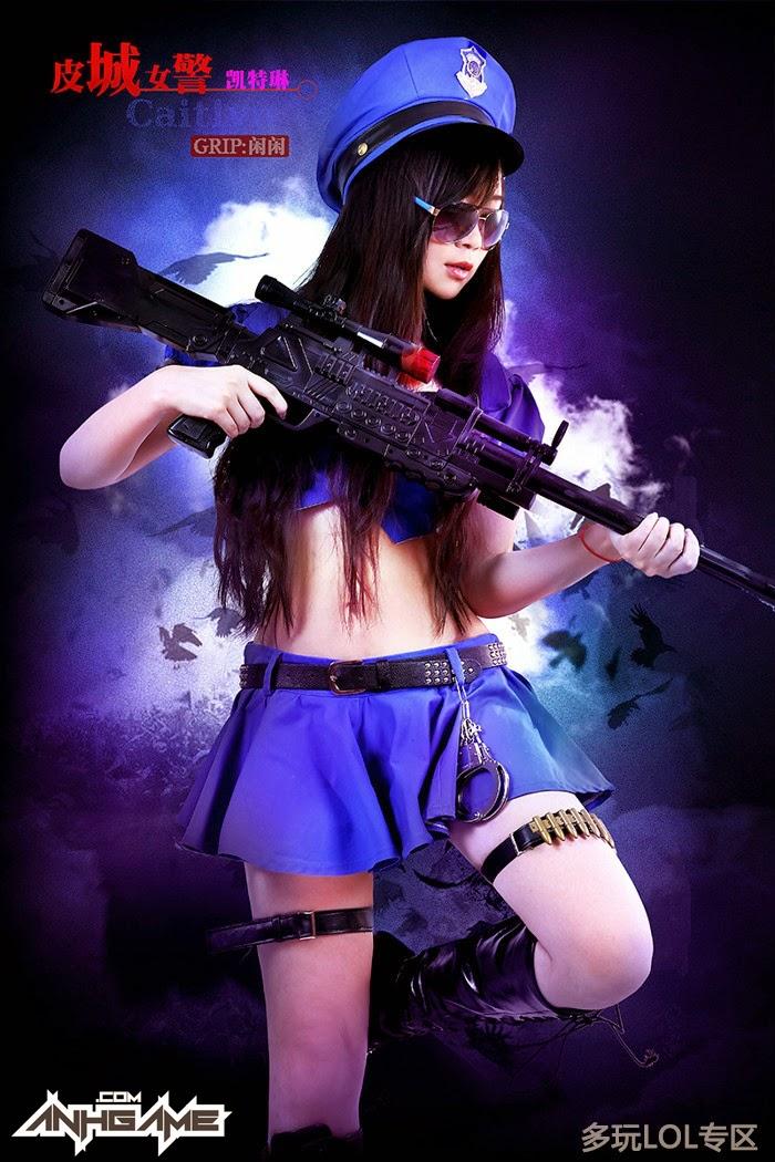 Mát mắt với cosplay Liên Minh Huyền Thoại Trung Quốc - Ảnh 6