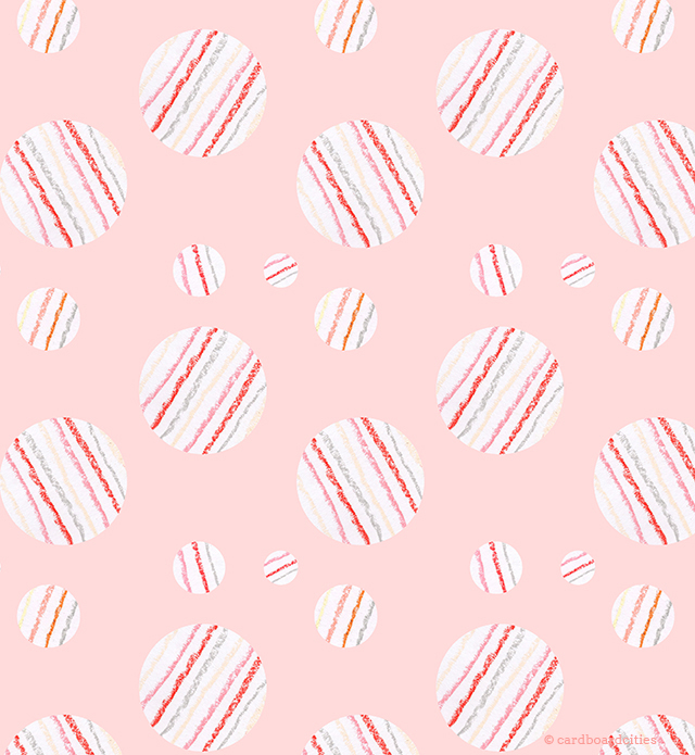 ysabel pattern (in pastel pink) by laura redburn