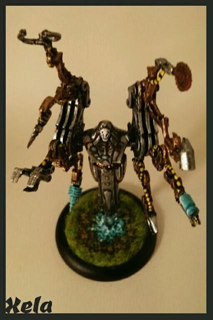 Syntherion pintado por Xela
