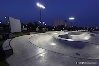 Herzliya's new skatepark = March 2011