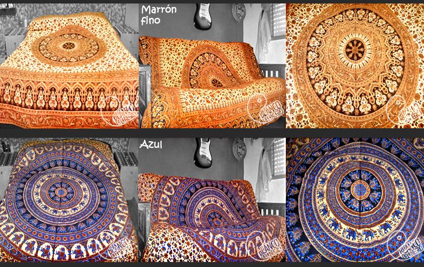 Cubrecama hindu 2 plazas cubre sillon cortina mantel for Sillon cama 2 plazas capital federal