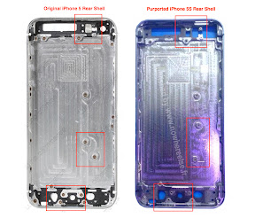 iPhone5S & iPhone5 Rear Shell:Nowhereelse.fr