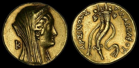 Arsinoe large 585x286 Η ΒΑΣΙΛΙΣΣΑ ΑΡΣΙΝΟΗ Β΄ ΚΥΒΕΡΝΗΣΕ ΣΤΗΝ ΑΡΧΑΙΑ ΑΙΓΥΠΤΟ ΩΣ ΓΥΝΑΙΚΑ ΦΑΡΑΩ