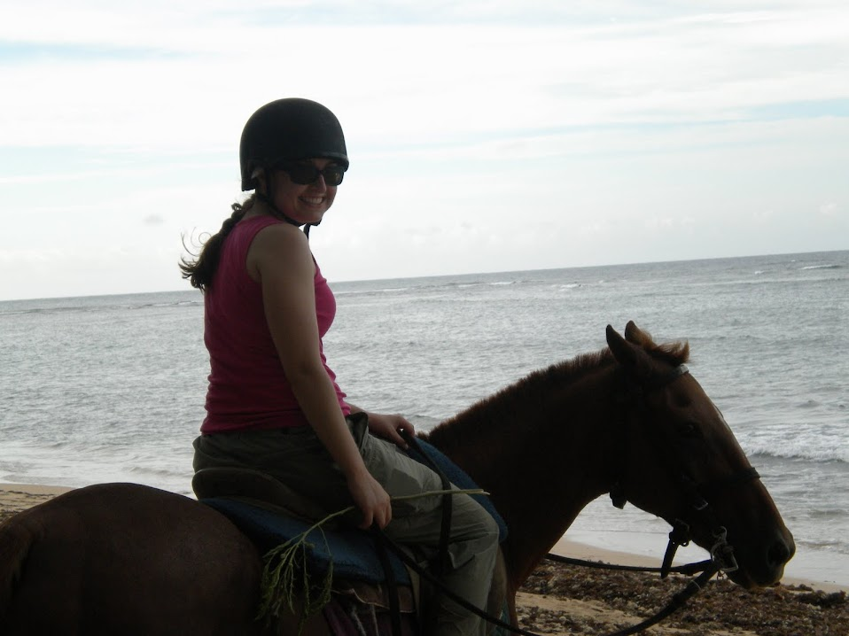 Horseback riding in Bath, Barbados