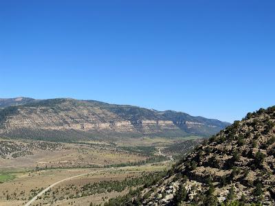 View north toward Reeder