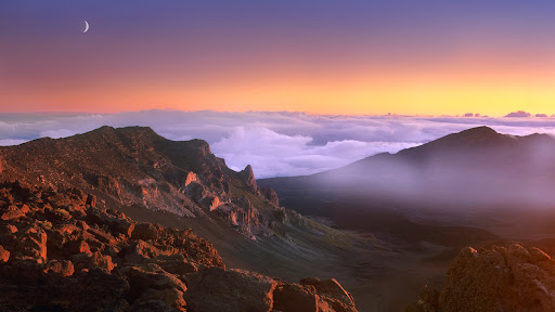 Overlooking Haleakala Crater at Sunrise, Maui, Hawaii.jpg