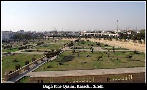 The Bagh Ibne Qasim is located in Clifton, Karachi, Sindh, Pakistan.