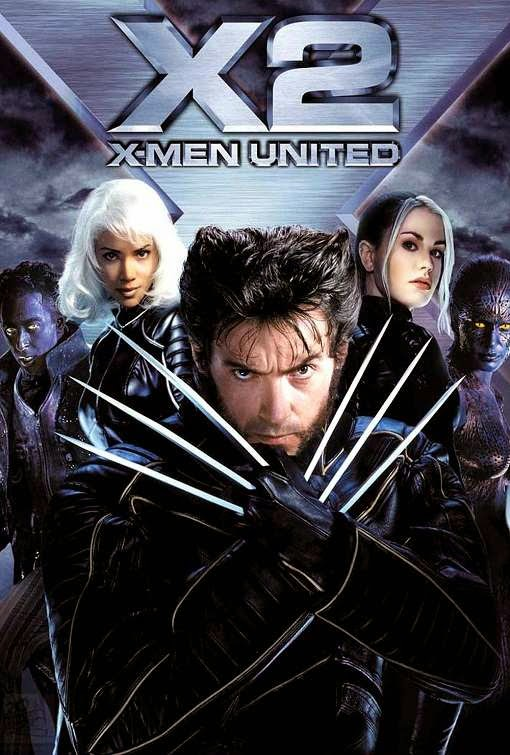 Poster Of X-Men 2: United (2003) Full Movie Hindi Dubbed Free Download Watch Online At Alldownloads4u.Com