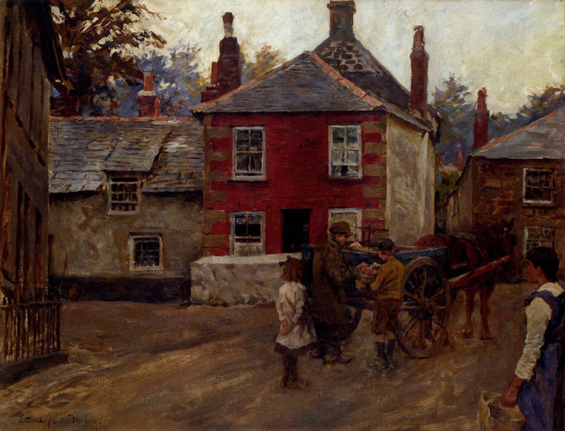 Stanhope Forbes - The Fruit Seller