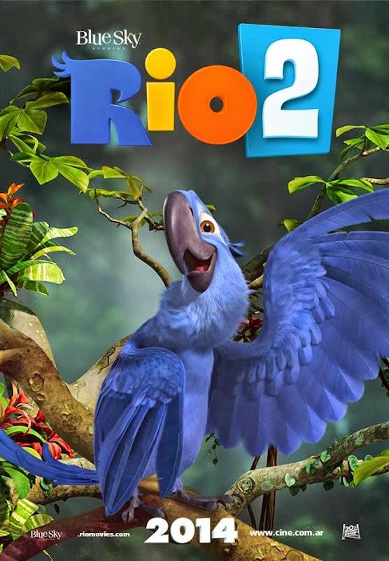 Filme Poster Rio 2 HDTS XviD Dual Audio & RMVB Dublado