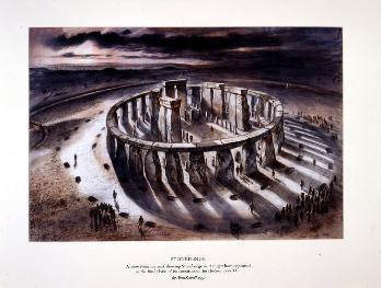 ricostruzione di stonehenge