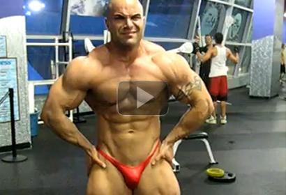 Iranian Body Builder in USA Habib Youssefi