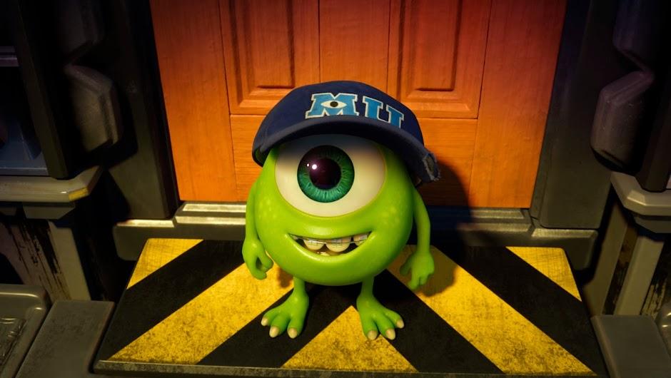 Monsters University Review: Mike Wazowski - Future Scarer