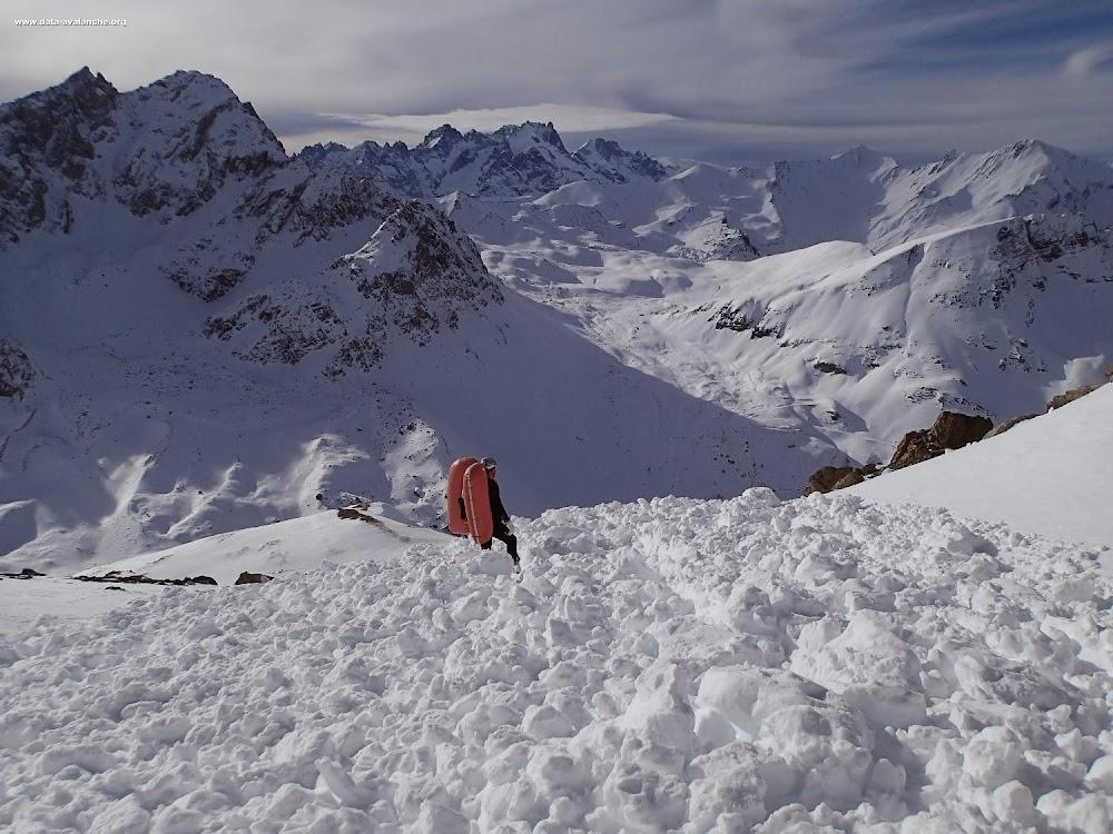 Avalanche Maurienne, secteur Valloire, Crête de Lacha - Photo 1