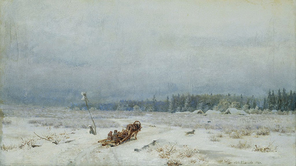 Lev Kamenev - Winter Road