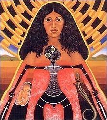 Goddess Hinetitama Image