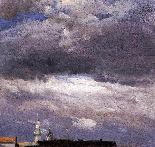 Johan Christian Dahl - Cloud Study