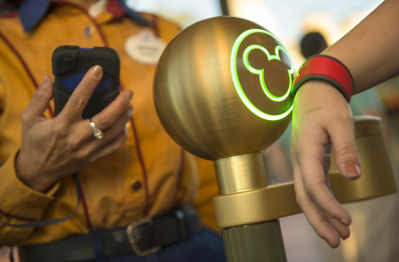 MagicBand can be used to get on the rides, unlock hotel rooms doors, and much more