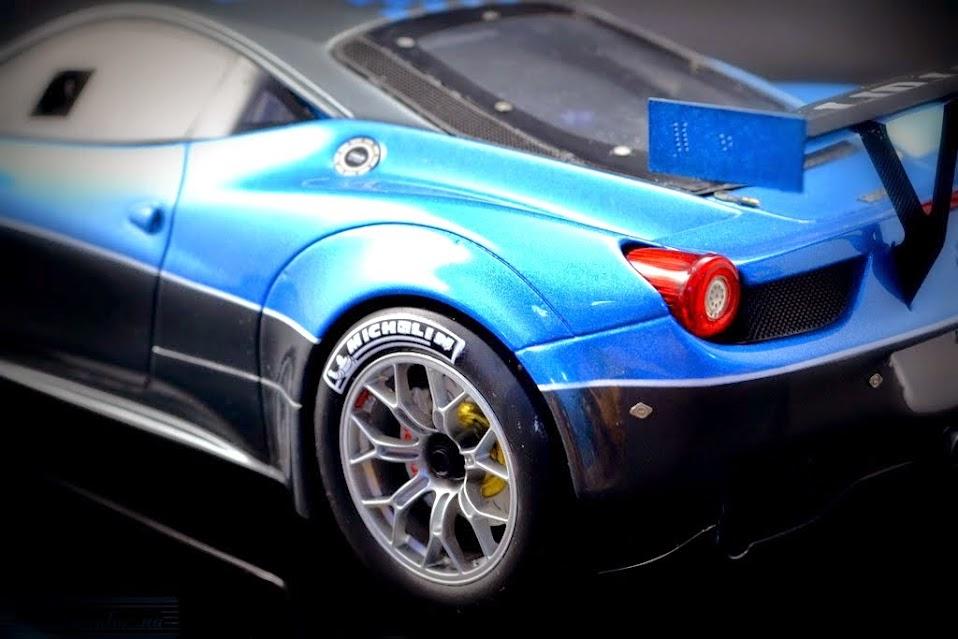 Ferrari 458 italia GT3 1:18 BBR