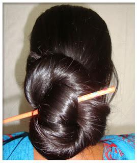 longhairgirls pure indian long hair silky bunponytail