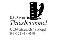 Bäckerei Thiesbrummel