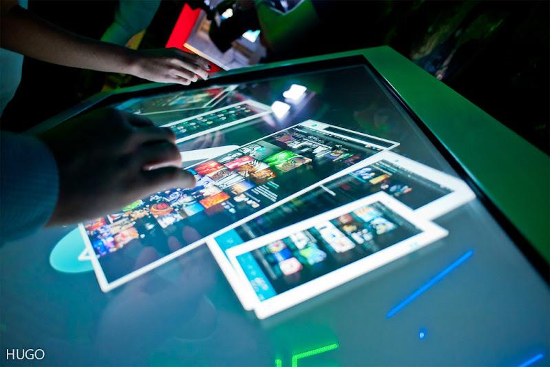 Интерактивный стол как iPad