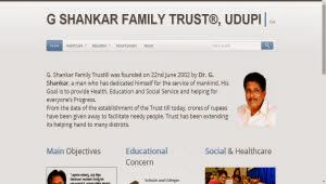 gshankarfamilytrust-website
