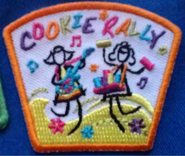 Count It Up Girl Scout Patch