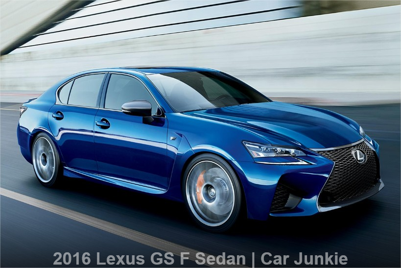 2016 Lexus GS F Sedan Interior Facelift Review | GS F 0-60