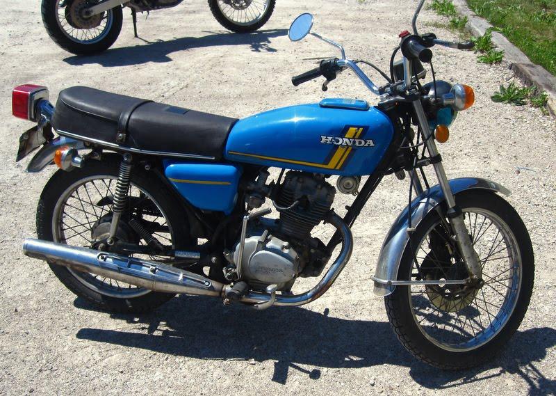 1977 Honda CB125S