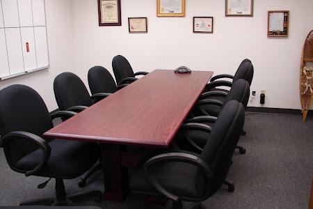 """110"""" x 48"""" Hagen Table in Heritage Oak"""