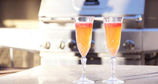 Bellini's – A Sublime and Simply Delicious Summer Drink (non-alcoholic and low sodium)
