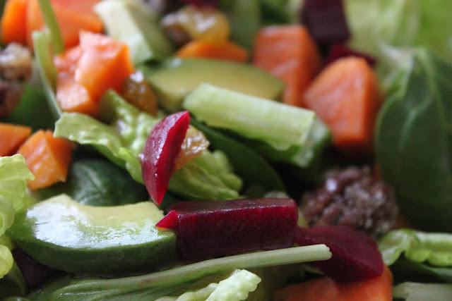 Sweet Potato Salad with Spiced Brown Sugar Vinaigrette