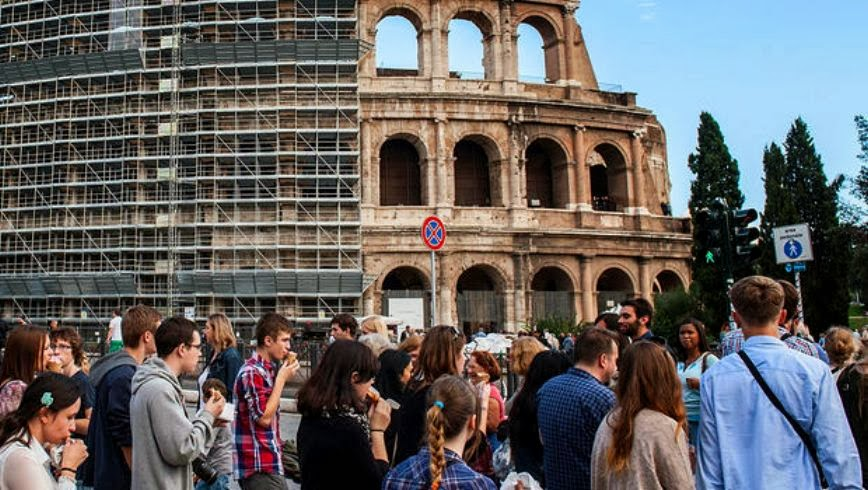 More Stuff: Colosseum restoration work begins